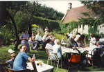At The Mead 1990.