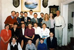 Ballinahoun House Buttle Family 1994, Jonathan's 7th Cousins, Co. Wexford.
