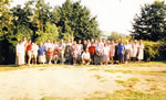 Buttle Clans gathering at 'The Buttles', St. Catherine's Valley, Nr. Bath, Somerset, July 1998.