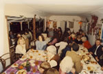 St. Catherine's Annual Harvest Supper, October 1977, in the 1923 Tea Pavilion.