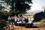 Jonathan's 60th, wonderful day at Buttles oldest farm from 1736, Coolafancy, Co. Wicklow, May 2004.