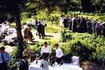 Wedding at The Mead 1990.