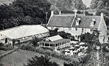 Main photo of the Mead Tea Gardens from the 1923 to 1947 Original Brochure